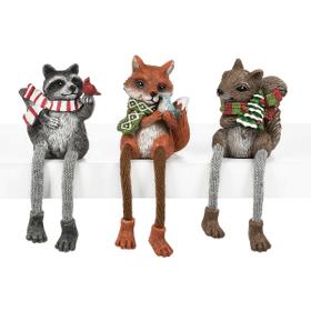 Woodland Christmas Shelfsitters (6 pc. ppk.)