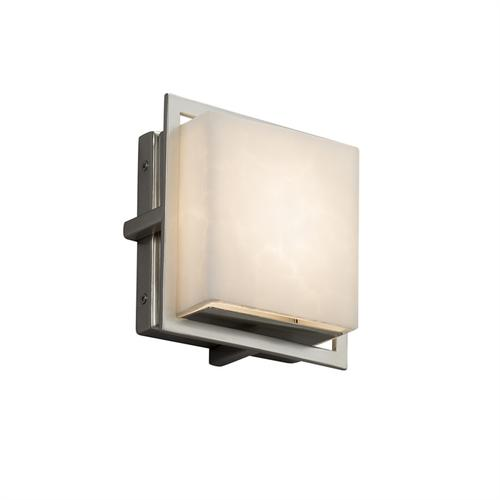 """Avalon 7"""" Square ADA Outdoor/Indoor LED Wall Sconce"""