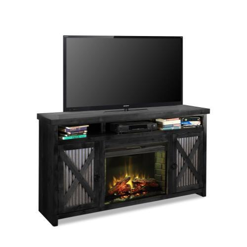 Legends - Jackson Hole Fireplace Console