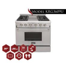 "Model KRG3609U - 36"" Pro Class Kitchen Range"