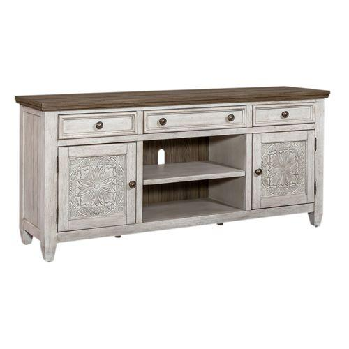 Liberty Furniture Industries - 66 Inch Tile TV Console
