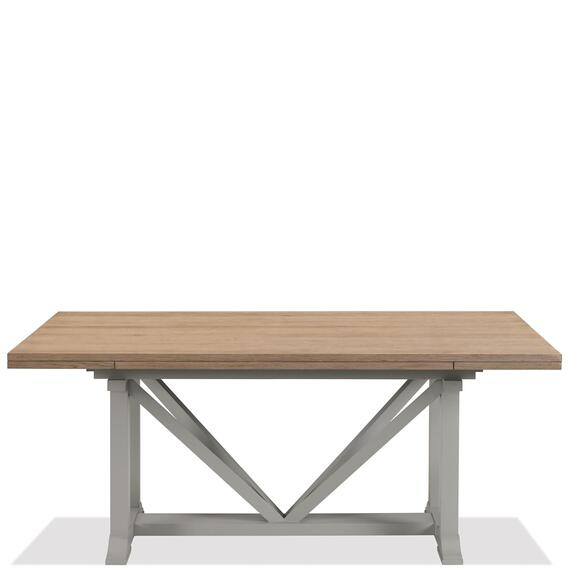 Riverside - Osborne - Rectangular Dining Table - Timeless Oak/gray Skies Finish