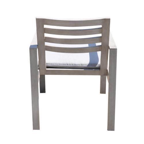 Renava Dunes Outdoor Grey Dining Table Set