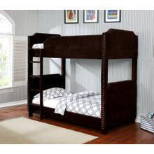 7602 Upholstered Bunk Bed
