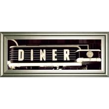"""Diner"" By Susan Bryant Framed Photo Print Wall Art"