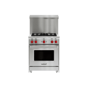 "30"" x 20"" Gas Range Riser With Shelf"