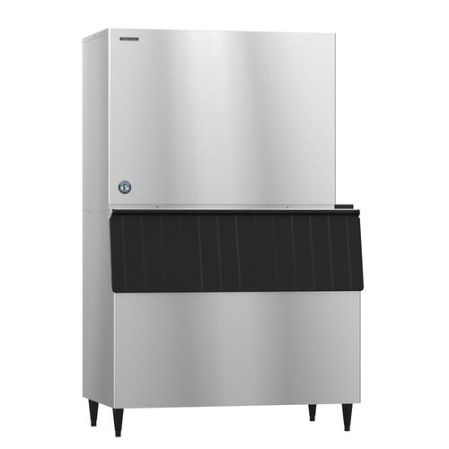 KM-1900SRJ with URC-22F, Crescent Cuber Icemaker, Remote-cooled
