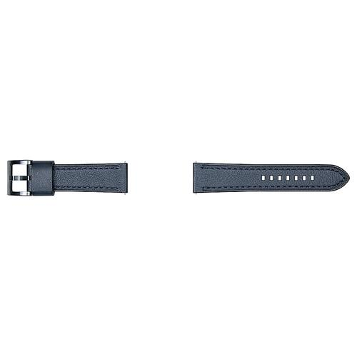Leather Strap Seta (22mm) Navy Blue