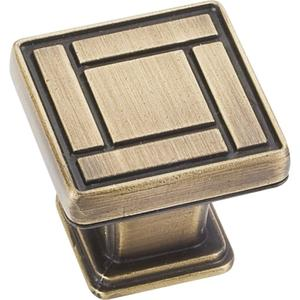 """1-1/8"""" Overall Length Arts & Crafts Cabinet Knob. Product Image"""