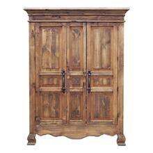 Rec Med Wax 2 Door Armoire