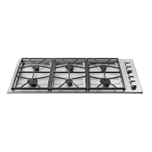 "46"" Professional Gas Cooktop, Natural Gas/High Altitude"