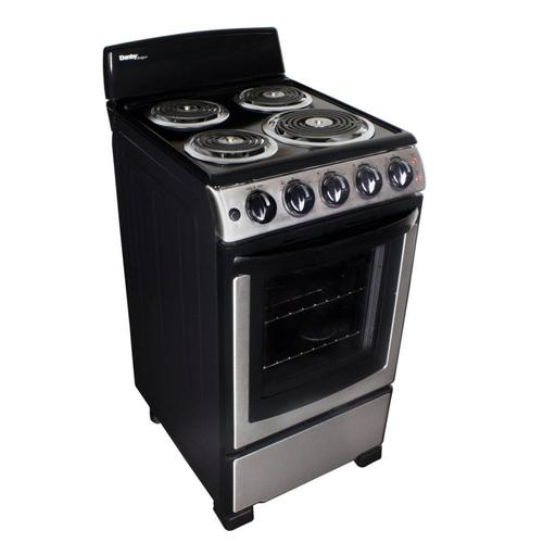 """Product Image - Danby 20"""" Free Standing Coil Stainless Steel Range"""