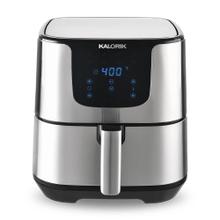 Kalorik XL Smart Fryer Pro with Trivet, Stainless Steel