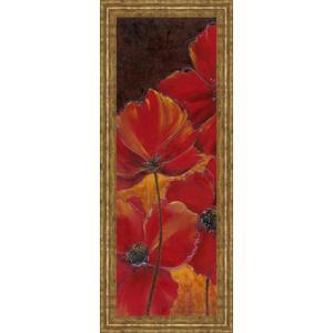"""""""Midnight Poppy I"""" By Richard Henson Framed Print Wall Art"""