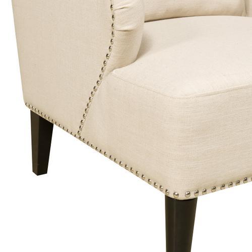 Accent Arm Chair in Celine Flour