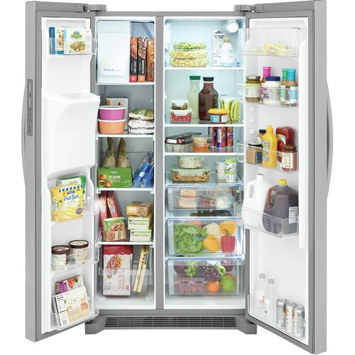 Frigidaire 22.3 Cu. Ft. 36'' Counter Depth Side by Side Refrigerator