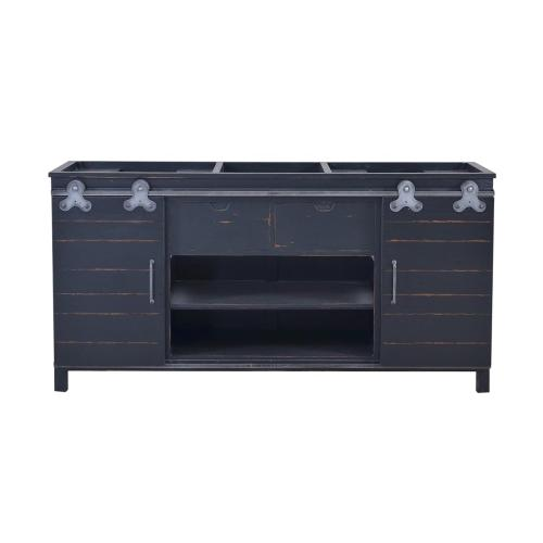 Sonoma Double Vanity w/o Marble Top & Sink