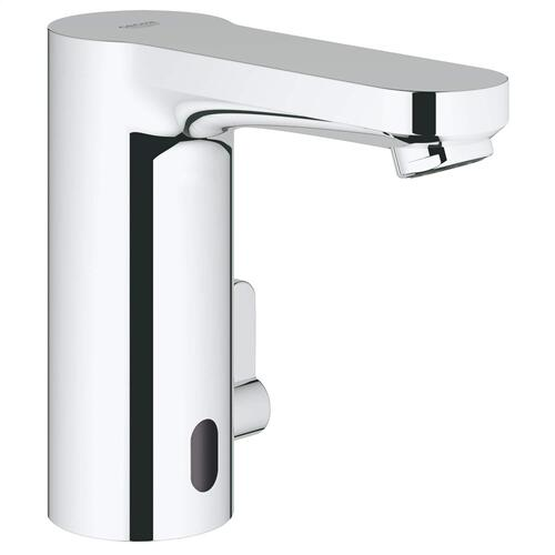Eurosmart Cosmopolitan E Centerset Touchless Electronic Bathroom Faucet With Temperature Control Lever