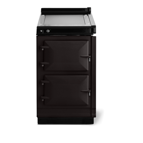 """Gallery - AGA Classic 20"""" Hotcupboard with Warming Plate, Black"""