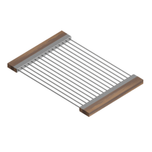 See Details - Drying Rack 215207 - Stainless steel sink accessory , Walnut