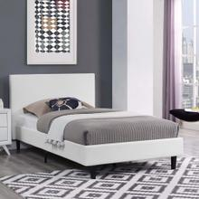 Anya Twin Bed in White