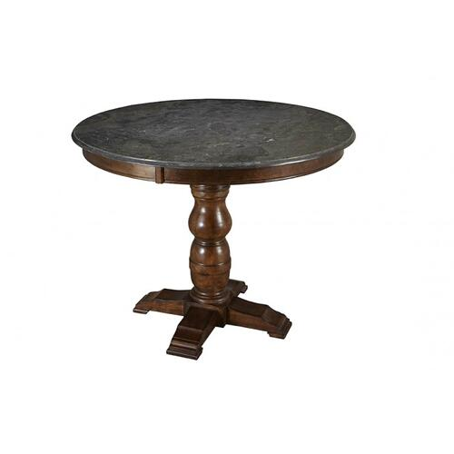 See Details - Andover Park Round Hilo Pedestal Table