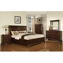 Canton Cherry Storage Bedroom