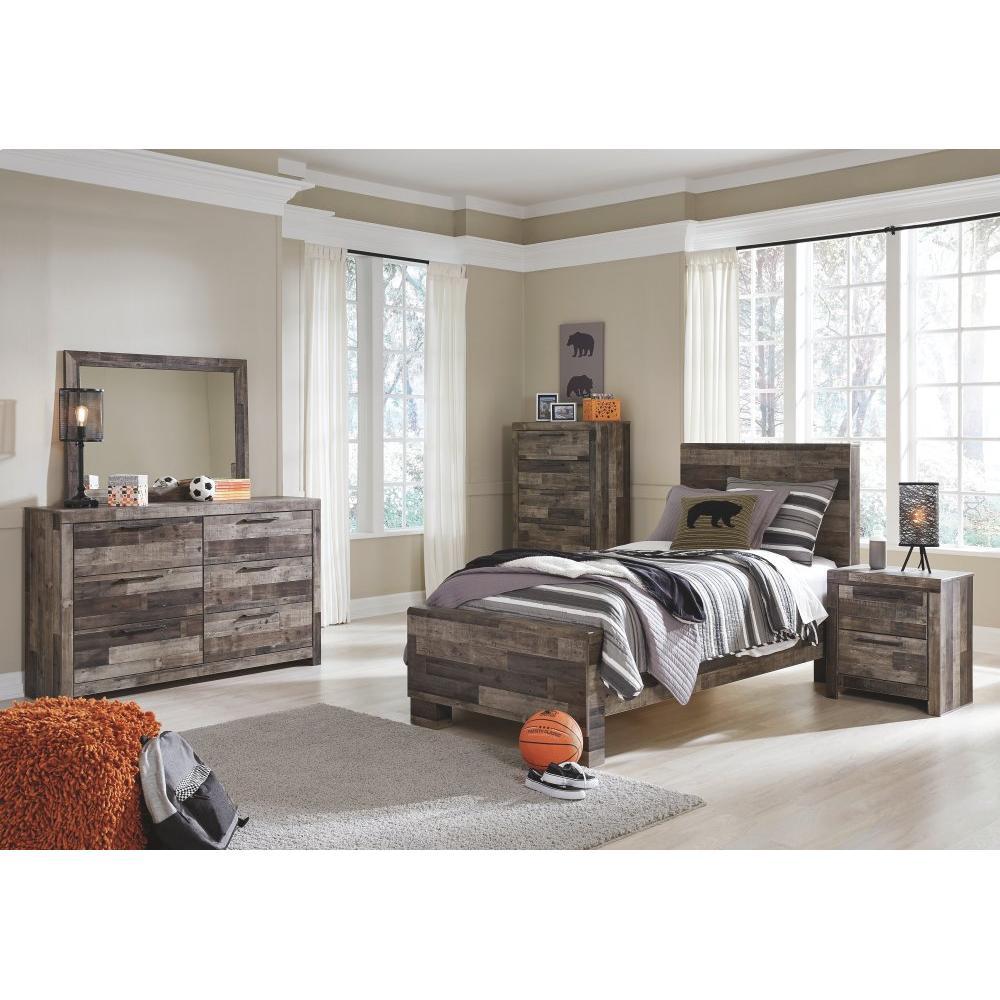 Derekson Twin Panel Bed