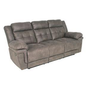 Gallery - Anastasia Grey 3 Piece Manual Motion Set(Sofa, Loveseat & Chair)