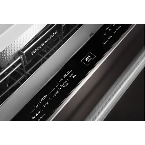 46 DBA Dishwasher with Third Level Rack and PrintShield™ Finish - Black Stainless Steel with PrintShield™ Finish