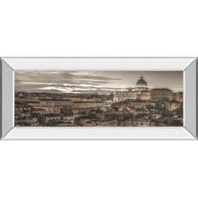 """Bella Roma"" By Frank Assaf Mirror Framed Print Wall Art"
