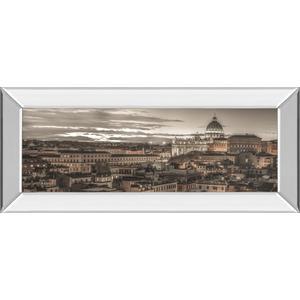 "Classy Art - ""Bella Roma"" By Frank Assaf Mirror Framed Print Wall Art"