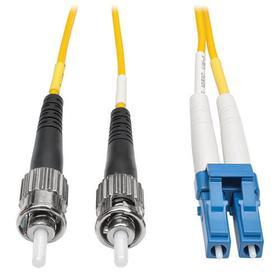 Duplex Singlemode 8.3/125 Fiber Patch Cable (LC/ST), 50 m (164 ft.)