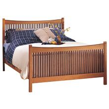 Complete Bed, King Spindle Bed