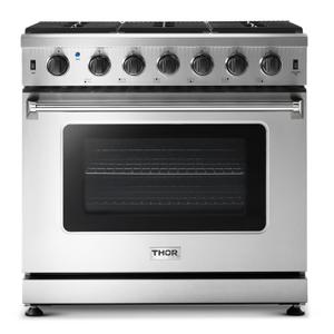 Thor36 Inch Gas Range In Stainless Steel