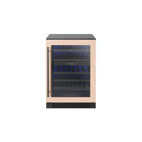 """24"""" Panel Ready Dual Zone Wine Cooler"""