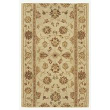 "Heritage Hall He08 Ivory 30"" Runner"