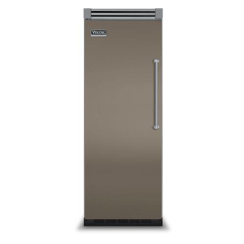 "Viking - Stone Gray 30"" Quiet Cool™ All Refrigerator - VIRB Tru-Flush™ (Left Hinge Door)"