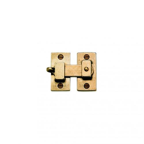 Cabinet Latch - CL100 White Bronze Medium