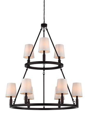 Lismore Large Chandelier Oil Rubbed Bronze Product Image