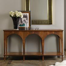 Triple Classical Console With Shelf
