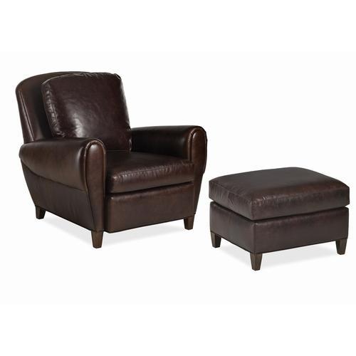 Renee Chair and Ottoman