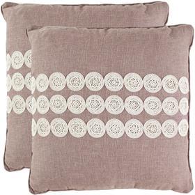 Thora Pillow - Taupe