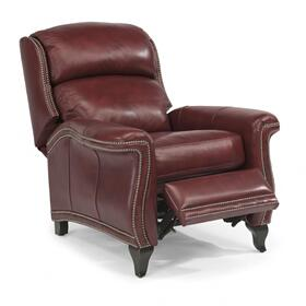 Sting Ray Leather Power High-Leg Recliner