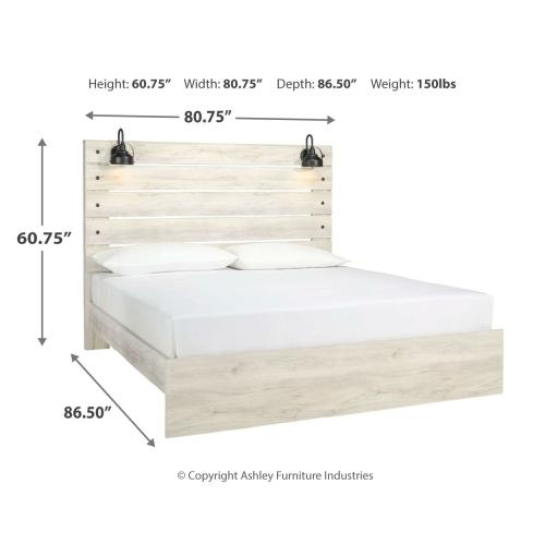 Signature Design By Ashley - Cambeck King Panel Bed