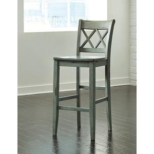 "Tall Barstool -30"" Mestler Blue/Green"