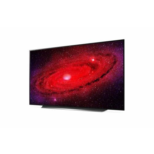 LG CX 77 inch Class 4K Smart OLED TV w/ AI ThinQ® (76.7'' Diag)
