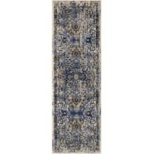 "Tempest Perception Cobalt 2' 6""x8' Runner"