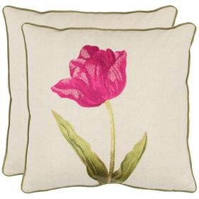 Meadow Pillow - Fuchsia