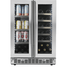 "Lorraine 24"" French Door Beverage Center"